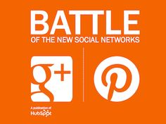 The battle is on! Pinterest VS Google Plus: check out HubSpot's ebook: http://bit.ly/SME-Edition