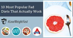 10 Most Popular Fad Diets That Actually Work