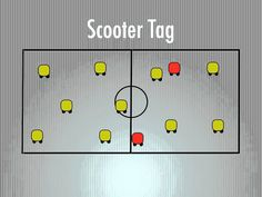 P.E. Games - Scooter Tag