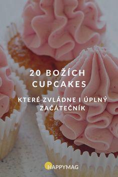 Chystáte se upéct něco sladkého? A co třeba americké cupcakes, sladké minidortíčky? Zkuste ty naše a vyberte se z množství zdobení! #cupcakes #dorty #recept #sladkepeceni #peceni Cupcakes, Diy, Food, Build Your Own, Bricolage, Cupcake, Cup Cakes, Hoods, Meals