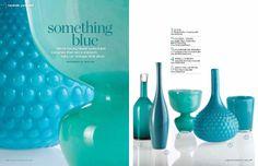Aqua vases