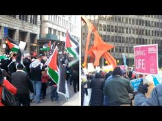 Two Chicago Loop Protests, 2015/2016