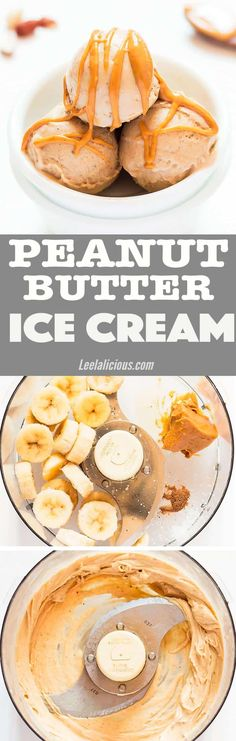 A simple summer treat based on frozen bananas – this Peanut Butter Banana Ice Cream is a great way to enjoy a guilt-free frozen dessert. The recipe is dairy free, vegan, has no added sugar and can be made paleo. A perfect healthy treat for kids, this peanut butter nice cream recipe is also great to involve them in the process #dessert #summer #icecream #healthy #vegan #peanutbutter #banana Homemade | Easy | No Eggs | Cuisinart | How To Make | Vitamix | DIY | Families | Clean Eating | Gluten…