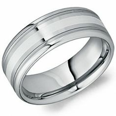 Crown Ring - Collections Alternative Metal Tungsten Carbide Tu 0150 Z Cool Wedding Rings, Wedding Bands, Tungsten Carbide, Tungsten Rings, Alternative Metal, Gold Bands, Rings For Men, Gems, Mens Fashion
