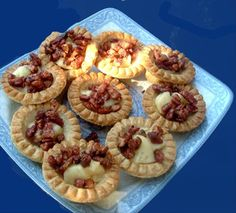 """Pecan Brie Tarts: """"These versatile tarts are wonderful on a buffet table or as a starter. And are equally as good for dessert with a nice wine."""" -Derf"""