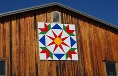 Pennsylvania Dutch Hex Sign on Barn
