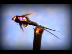 Fly Tying: Copper John bead head nymph - YouTube