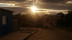 #BoaNoite! Vista do bairro Alto Caixa D'Água, São João do Piauí.   #FinalDeTarde  #PorDoSol #SãoJoãoDoPiaui  #SJPI #Nordeste  #Sertão  #Caatinga