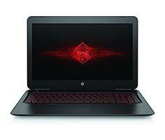 """HP OMEN 15-ax008ns - Ordenador portátil de 15.6"""" FullHD (Intel Core i5-6300HQ, 8 GB de RAM, HDD de 1 TB, NVIDIA GTX 950M 2GB GDDR5, Windows 10), negro - Teclado QWERTY Español"""