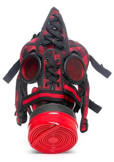 Nike Vandal Flannel Sneaker Gas Mask
