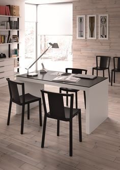 Neutra chair Office Desk, Corner Desk, Dining Table, Chair, Barcelona, Design, Furniture, Home Decor, Homemade Home Decor