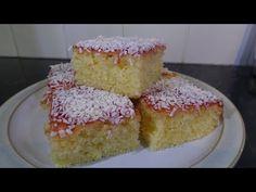 Square Cake Pans, Square Cakes, Lemon Brownies, Tasty, Yummy Food, Lemon Recipes, Vanilla Cake, Raspberry