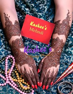 Very gorgeous mehndi design by kashee 's beauty parlour Kashee's Mehndi Designs, Stylish Mehndi Designs, Latest Bridal Mehndi Designs, Mehndi Design Pictures, Beautiful Henna Designs, Beautiful Mehndi, Mehndi Designs For Hands, Mehndi Images, Hena Designs