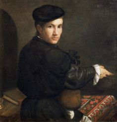 Portrait of a Musician by Lorenzo Lotto