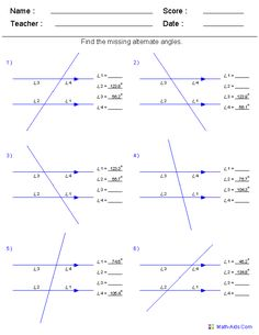 Teach your students about complementary and supplementary angles ...