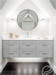 hamptons style bathroom vanity australia - Google Search