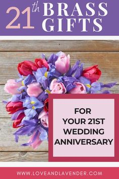 The giving of wedding anniversary gifts specific to how long a couple has been together has its origins with the Holy Roman Empire or the superstitious Middle Ages. Maybe. All we know is, 21st wedding anniversary gifts seem to have no origins in superstition or ancient history. Read this article on 21 Brass Gifts for your 21st Wedding Anniversary! Click the link for more! #anniversary #romanticgifts #anniversarygifts #21stanniversary
