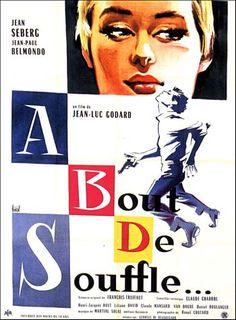 Un autre film de la Nouvelle-Vague que j'ai découvert dans mon cours de cinéma du 20ième siècle. Réalisé cette fois-ci par Jean-Luc Godard mettant en scène le grand Jean-Paul Belmondo.