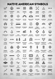 Native American Signs by Zapista Zapista . - Native American Signs by Zapista Zapista indians, symbols, in - Native American Tattoos, Native American Symbols, Native American Indians, Cherokee Indian Tattoos, Cherokee Symbols, Native American Design, Native Tattoos, Native American Thunderbird, Native American Drawing