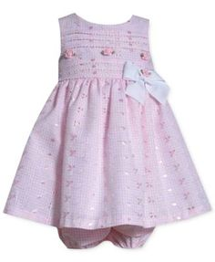 Baby Girl Dresses Clothes at Macy's come in a variety of styles and sizes. Shop Baby Girl Dresses Clothing at Macy's and find newborn girl clothes, toddler girl clothes, baby dresses and more. Newborn Girl Outfits, Toddler Girl Outfits, Kids Outfits, Dresses Kids Girl, Little Dresses, Baby Girl Dress Design, Kids Dress Patterns, Little Fashion, Eyelet Dress