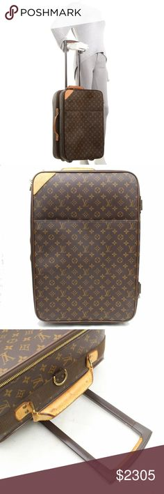 37ddfee293e30 Louis Vuitton Legere 55 Rolling Luggage Carry-On GOOD CONDITION (7 10 or B)  Includes Removable Garment Bag Retail  3550 (Outside Flaws) Minor rubs on  the ...