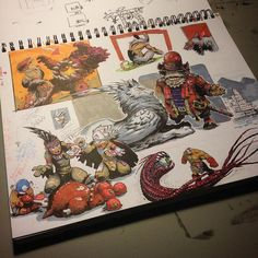 Joe Vriens: Looking through all the drawings and sketches I have laying around the studio. Been thinking about putting together a small sketchbook to sell or possibly a full colour art book. Would anyone be interested in either or? Small Sketchbook, Character Art, Character Design, Creepy Images, Sketchbook Inspiration, Marker Art, Art Challenge, Ink Art, Art Inspo