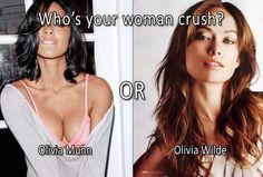 Olivia Munn vs Olivia Wilde