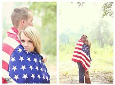We told you it was a patriotic shoot; sweet session! { Holly Perry Photography }