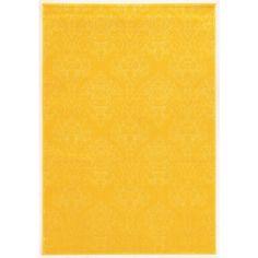 Oh! Home Prisma Chloe Yellow Rug (8' x 10'4-inch)