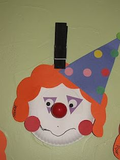 Balloon Nose Clown Craft