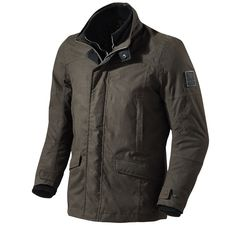 This is the awesome REV'IT Motorcycle Jacket Elysee available in either black or dark brown.