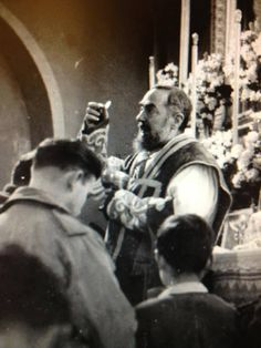 """Padre Pio ~ Pray in the footsteps of St. Pio and, his """"holy father"""" St. Francis of Assisi on pilgrimage with www.CatholicFaithJourneys.com  #CatholicBucketList #Italy#StPadrePio"""