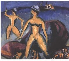 Kirchner - Two women at the sea