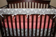 Baby Crib Skirt Gray Buck Straight Crib by DesignsbyChristyS Baby Crib Bedding, Baby Cribs, Crib Skirts, Free Studio, Gray Skirt, Be Perfect, Boy Or Girl, Toddler Bed, Custom Design