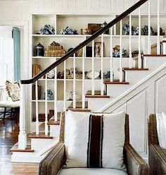 Shelf and stairs