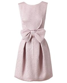 Nina Ricci Silk-blend Cloque Dress