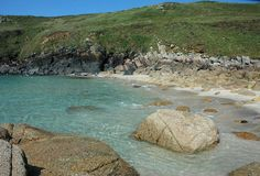 Porthmeor Cove - beaches near Penzance - very quite, little parking, a geologists delight