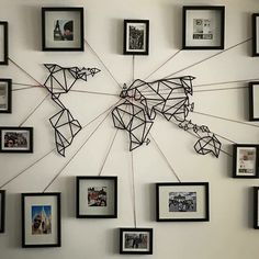 Diy ideas inspirations from hobby lobby wall decorations map with visited photos gumiabroncs Image collections