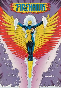 This is the Firehawk disambiguation page. Firehawk is Lorraine Reilly, a superhero with the powers of Firestorm. Henry Hewitt had her kidnapped so he could test the experiment that created Firestorm. Madame Xanadu, Silver Banshee, Doctor Light, Dc Comics, Comic Art, Comic Books, Killer Frost, Blue Beetle, Deadshot