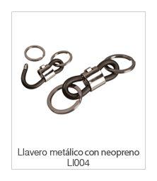 Llavero Metálico con Neopreno Ll004