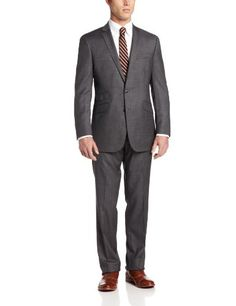 Ben Sherman Men's Black 2 Button Side Vent Wool Suit with Flat Front Pant, Black, 42 Long Ben Sherman http://www.amazon.com/dp/B00CB8PGTY/ref=cm_sw_r_pi_dp_YBhDwb0XKVTD0