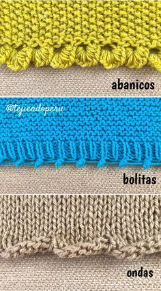 3 formas fantasía de montar puntos en dos agujas o palitos Knitting Stiches, Knitting Videos, Knitting Charts, Lace Knitting, Knitting Projects, Knitting Patterns, Crochet Patterns, Crochet Crafts, Knit Crochet