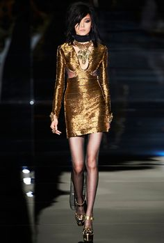 Carol McBride / Sleep Knows No Dawn inspired by TOM FORD Women Spring & Summer Collection 2015 http://fqoto.com/fqoto-ss-2015-001-carol-mcbride--sleep-knows-no-dawn-1.html