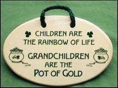Great baby shower gift for the Grandmas!