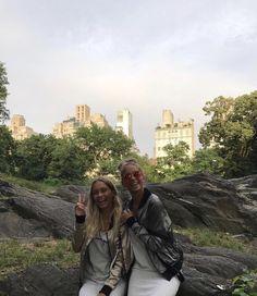 Lisa and Lena ♡ at NYC