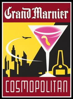 Grand Marnier - Cosmopolitan by Artist Unknown | Vintage Posters ...