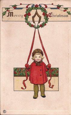 Maudelynn's Menagerie: Photo Vintage Christmas Card