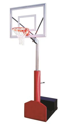 First Team Rampage II Adjustable Portable Basketball Hoop 48 inch Acrylic from NJ Swingsets