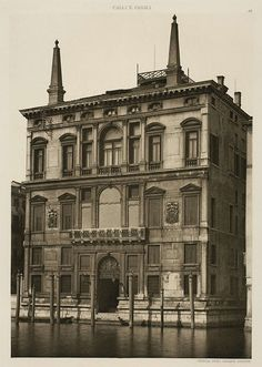 Fernandino Ongania, photogravure of the Palazzo Papadopoli in National Gallery of Canada. Architectural Antiques, Michelangelo, Fine Art, Venice Italy, 16th Century, Palazzo, 500 Piece Jigsaw Puzzles, White Ceramics, Poster Size Prints