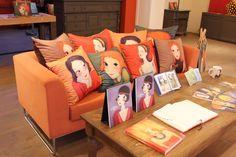 #cushion for living room   YOUK SHIM WON